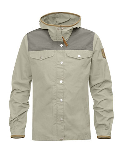 Fjallraven Leather Trim Jacket-BEIGE-Medium 88312674_BEIGE_Medium