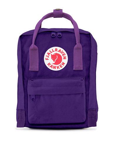 Fjallraven Kanken Mini Backpack-PURPLE-One Size
