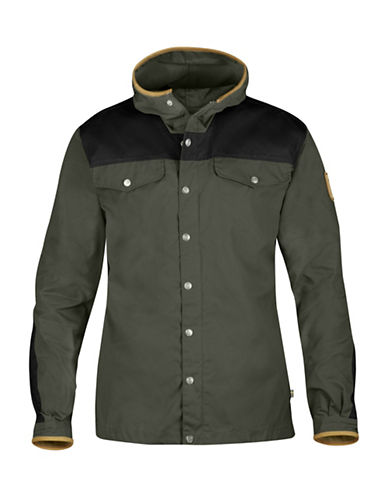Fjallraven Greenland No. 1 Special Edition Leather Detailed Jacket-MOUNTAIN GREY-X-Large