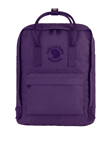 Fjallraven Re-Kanken Special Edition Backpack-VIOLET-One Size