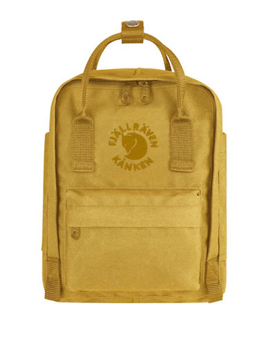 Fjallraven Re-Kanken Special Edition Mini Backpack-YELLOW-One Size