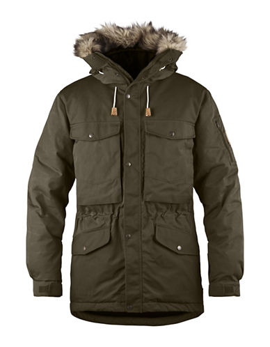 Fjallraven Singi Down Jacket-GREEN-Large
