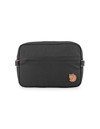 Fjallraven Travel Toiletry Bag-DARK GREY-One Size