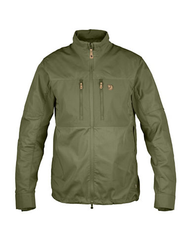 Fjallraven Abisko Shade Jacket-GREEN-Large