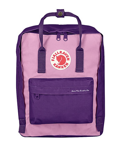 Fjallraven Save The Arctic Fox Backpack-PURPLE-One Size