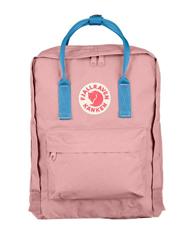 Fjallraven Kanken Backpack-PINK/BLUE-One Size