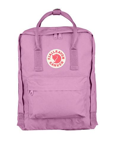 Fjallraven Kanken Logo Backpack-ORCHID-One Size