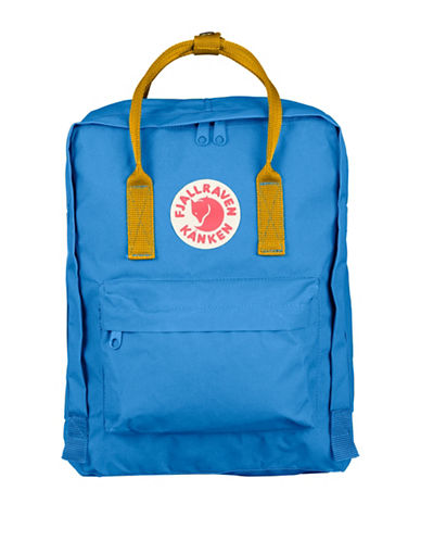 Fjallraven Kanken Backpack-BLUE/YELLOW-One Size