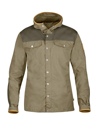 Fjallraven Greenland No. 1 Special Edition Leather Detailed Jacket-BROWN-Large 89010646_BROWN_Large