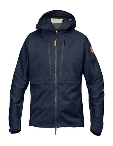 Fjallraven Keb Eco-Shell Jacket-NAVY-Small