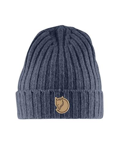 Fjallraven Rib-Knit Beanie-BLUE-One Size