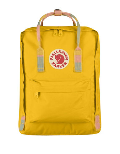 Fjallraven Kanken Backpack-YELLOW-One Size