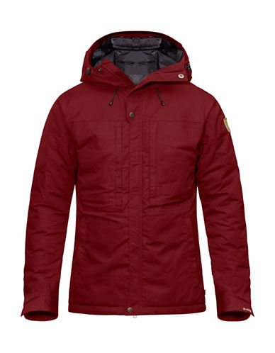 Fjallraven Skogso Padded Jacket-RED-Small
