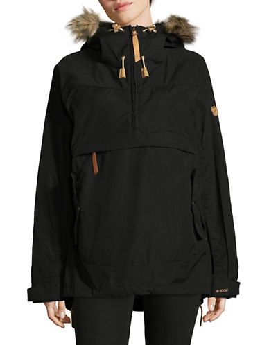 Fjallraven Iceland Anorak with Faux Fur Trim 89614779