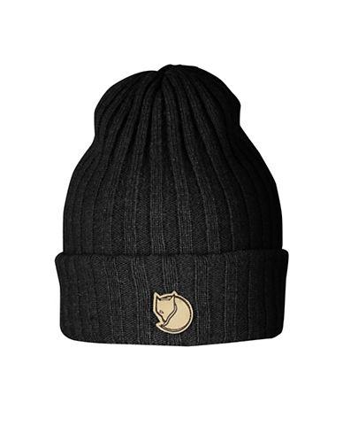 Fjallraven Byron Wool Beanie-BLACK-One Size