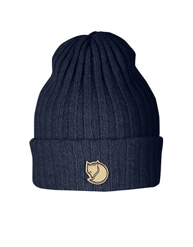 Fjallraven Byron Wool Beanie-BLUE-One Size