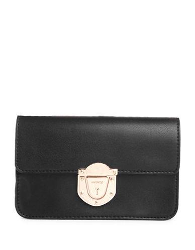 Nine West Lessy Crossbody Bag-BLACK-One Size