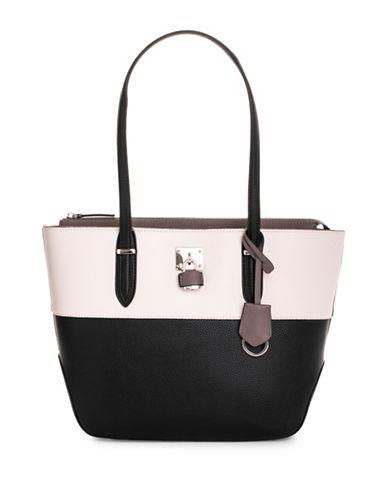 Nine West Reana Colourblock Shoulder Bag-BLACK-One Size