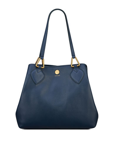 Anne Klein A Hinge Hobo Bag-SAPPHIRE-One Size