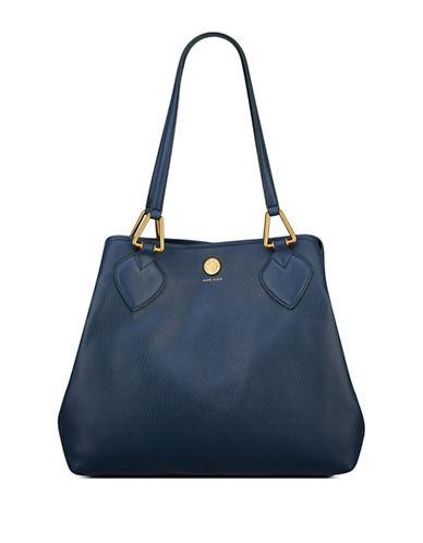 Anne Klein A Hinge Hobo Bag-SAPPHIRE-One Size