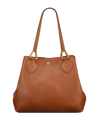 Anne Klein A Hinge Hobo Bag-ANTELOPE-One Size