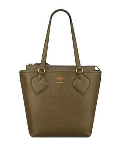 Anne Klein Straight Up Small Tote-MILITARY-One Size