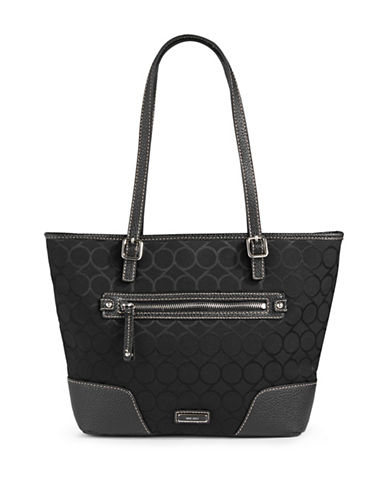 Nine West Tote Bag-BLACK-One Size