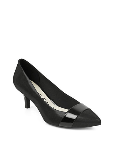 Anne Klein Ferri Point Toe Pumps-BLACK-6