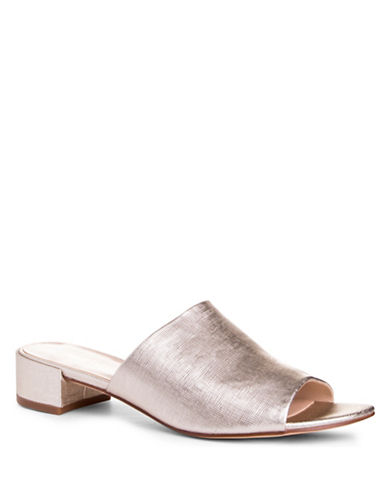 Nine West Raissa Open Toe Mules-PINK-8