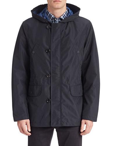 Gant Rugger Lightweight Hooded Jacket-NAVY-Small