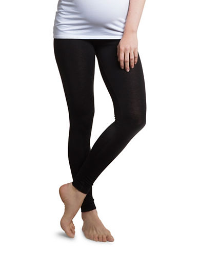 Boob Once On Never Off Leggings-BLACK-Large