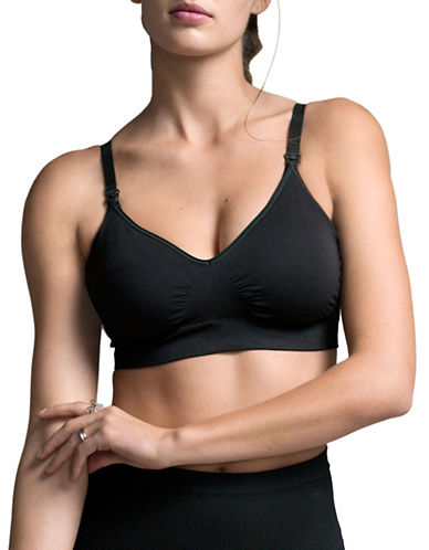 Boob Fast Food T-Shirt Bra-BLACK-Large