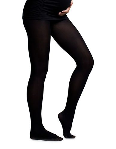 Boob Maternity Tights-BLACK-Small