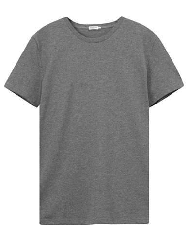 Filippa K Crew Neck T-Shirt-GREY-X-Small 87324786_GREY_X-Small
