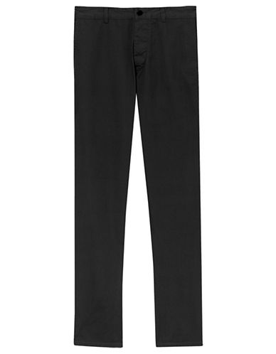 Filippa K M. Samuel Chino Pants-BLACK-EU 46/X-Small