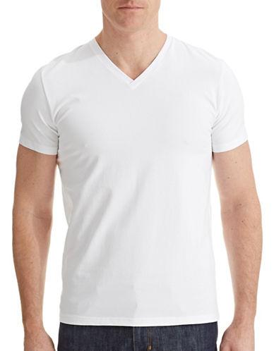 Filippa K V-Neck T-Shirt-WHITE-Small 87324828_WHITE_Small