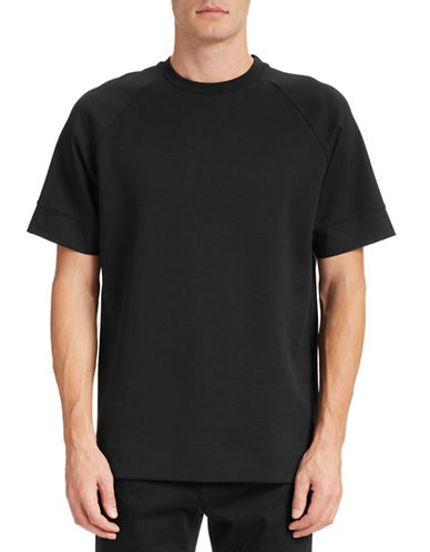 Filippa K Twill Jersey Tee-BLACK-X-Large