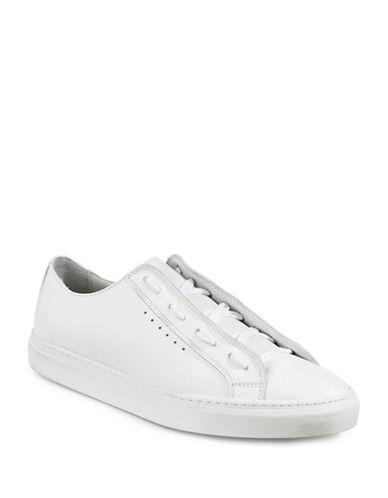 Filippa K Morgan Leather Low-Top Sneakers-WHITE-EU 44/US 11