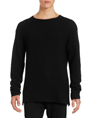 Filippa K Wool-Cotton Sweater-BLACK-X-Large