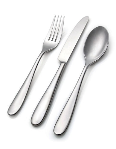 Hampton Monique 50-Piece Flatware Set-SILVER-One Size