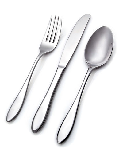Hampton Conifer 45-Piece Flatware Set-SILVER-One Size