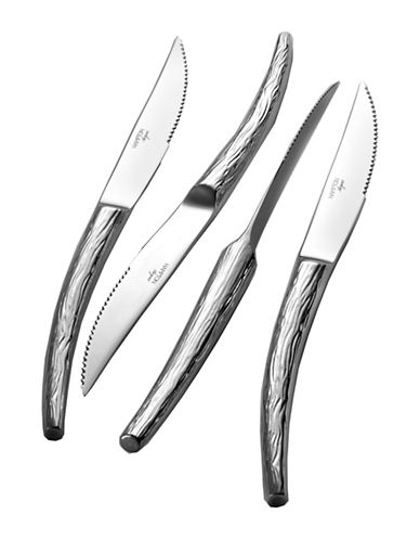 Argent Set of Four Stainless Steel Steak Knives-STAINLESS STEEL-4pc