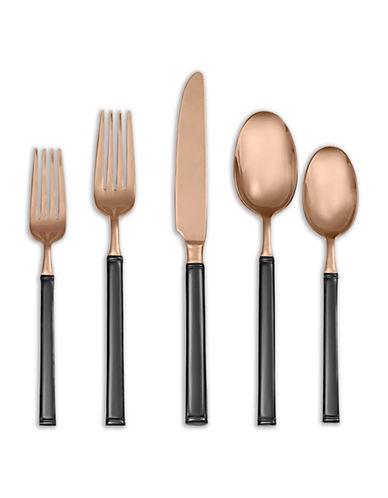 Argent Five-Piece Argent Doric Stainless Steel Cutlery Set-BLACK-5pc