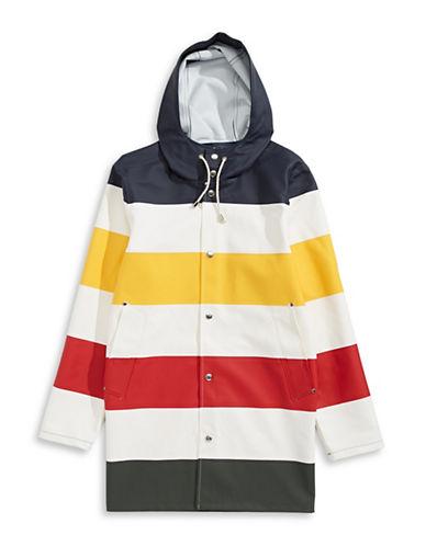 Hudson'S Bay Company X Stutterheim Raincoat-MULTI-XSmall plus size,  plus size fashion plus size appare