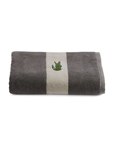 Lacoste Logo Cotton Bath Towel-CLIFF-Bath Towel