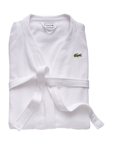 Lacoste Classic Pique Robe-WHITE-One Size