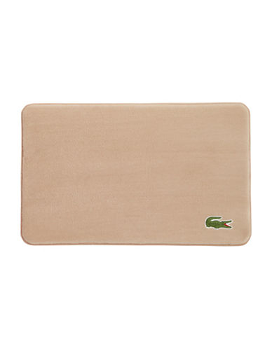 Lacoste Memory Foam Rug-SAND-One Size