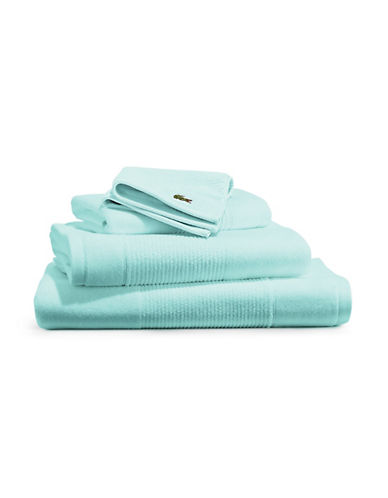 Lacoste Supima Hand Towel-BEACH GLASS-Hand Towel
