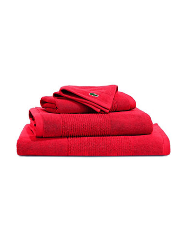 Lacoste Legend Supima Cotton Wash Cloth-FORMULA 1-Washcloth