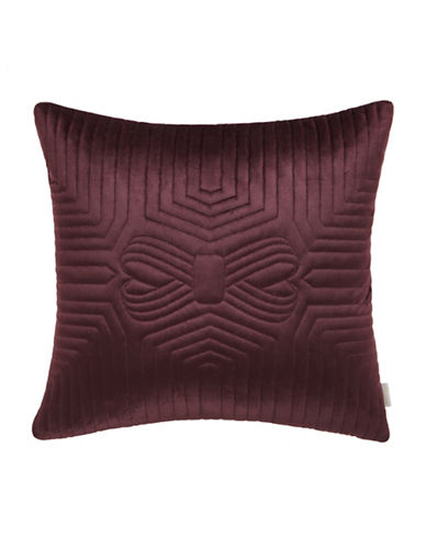 Ted Baker London Quilted Pillow-PURPLE-18x18